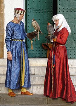 Женский Костюм 14 Век Европа